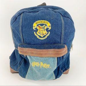 Harry Potter Hogwarts Denim Backpack 2001
